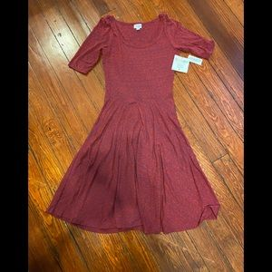 Lularoe NEW Red Dress Small